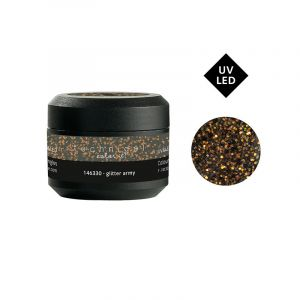Gel UV couleur Color it Glitter army 5g