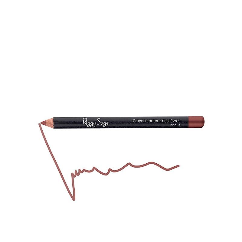 Peggy Sage Crayon contour des lèvres Brique 1.1g, Crayon à lèvres