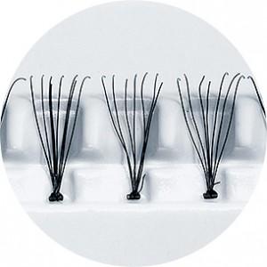 Peggy Sage Faux-cils individuels 13mm x60 Flare, Faux-cils