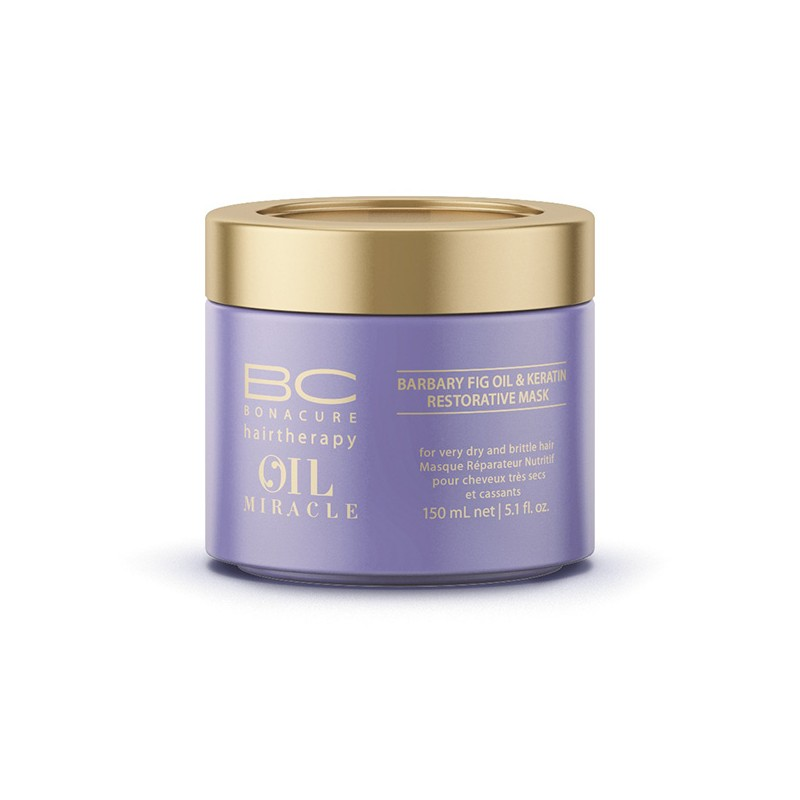 Schwarzkopf Masque Barbary Oil Miracle 150ML, Masque cheveux