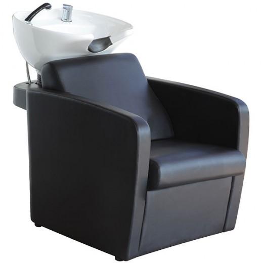 Coiffeo Bac à shampooing accoudoirs arrondis, Bac à shampooing