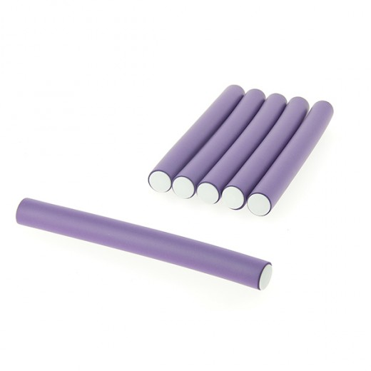 Coiffeo Flexi rollers 20mmx18cm x6 Violet, Flexi rollers