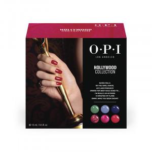 OPI Kit de découverte n°2 - 6 mini vernis Gel Color et 20 lingettes Expert Touch, Vernis semi-permanent couleur