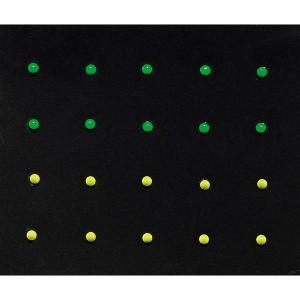 Peggy Sage Décors adhesifs pour ongles Neon studs, Sticker décoratif
