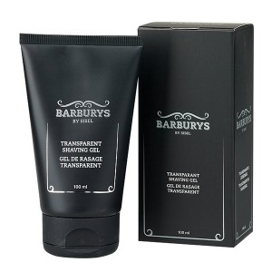 Barburys Gel de rasage transparent 100ML, Pré-rasage