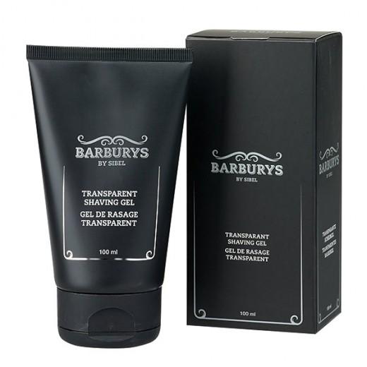Barburys Gel de rasage transparent 100ML, Pré-rasage