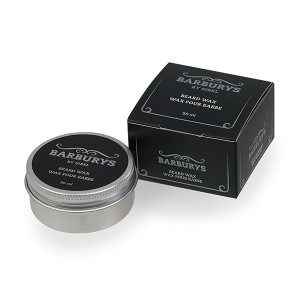Barburys Wax pour barbe 50ML, Soin barbe