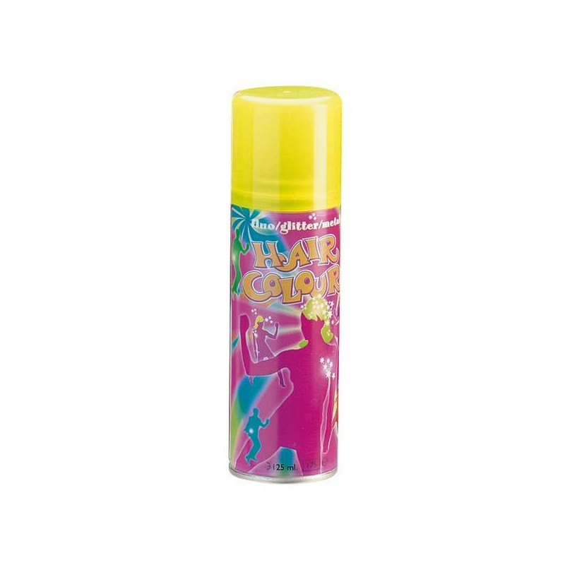 Sibel Bombe Hair Color Fluo jaune 125ML, Coloration temporaire