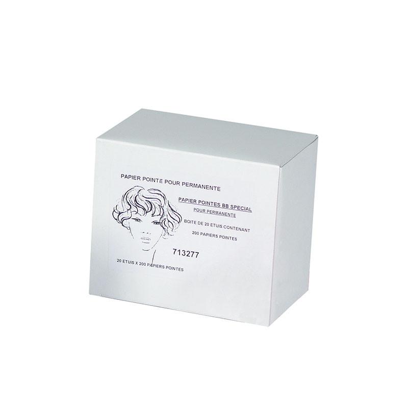 Mezzo Lot de 20 boîtes papiers pointe Gris x200, Accessoires permanente