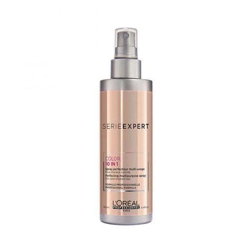 L'Oréal Professionnel Spray perfecteur Color 10 in 1 Vitamino Color A-OX 190ML, Spray cheveux
