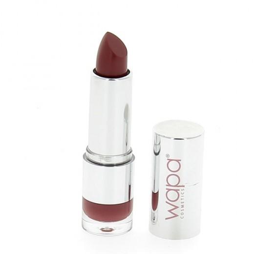 Wapa Rouge à lèvres hydratant brillant Marron foncé 053 4ML, Rouge à lèvres