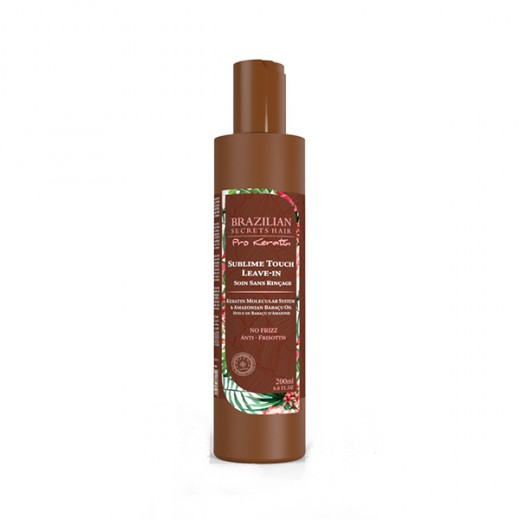 Crème Sublime Touch Brazilian Secrets Hair Pro Keratin 200 ml