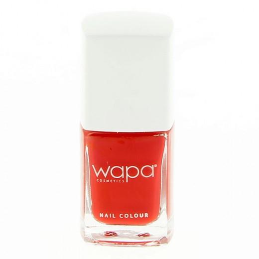 Wapa Vernis à ongles séchage rapide Rouge orange 011 12ML, Vernis à ongles couleur