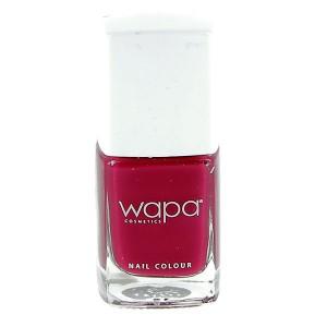 Wapa Vernis à ongles séchage rapide Magenta 020 12ML, Vernis à ongles couleur