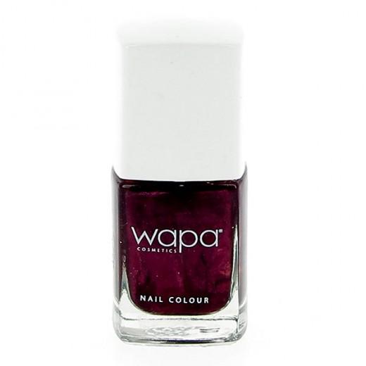 Wapa Vernis à ongles séchage rapide Violet pourpre 027 12ML, Vernis à ongles couleur