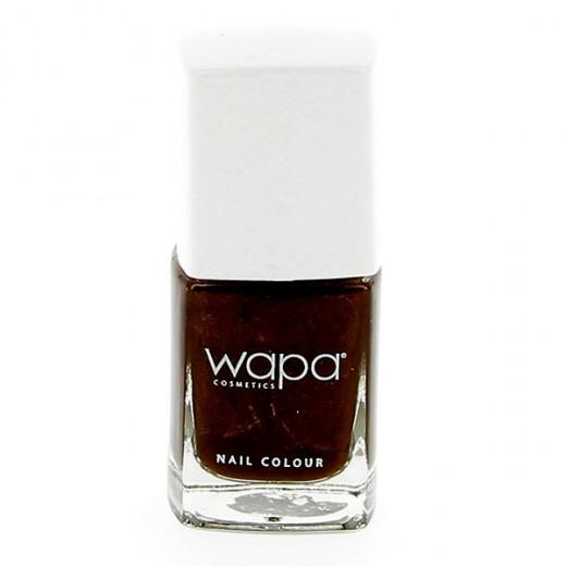 Wapa Vernis à ongles séchage rapide Marron bistre 030 12ML, Vernis à ongles couleur
