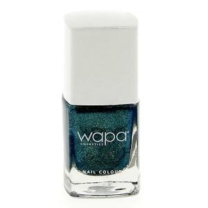 Wapa Vernis à ongles séchage rapide Vert chrome pailleté 031 12ML, Vernis à ongles couleur