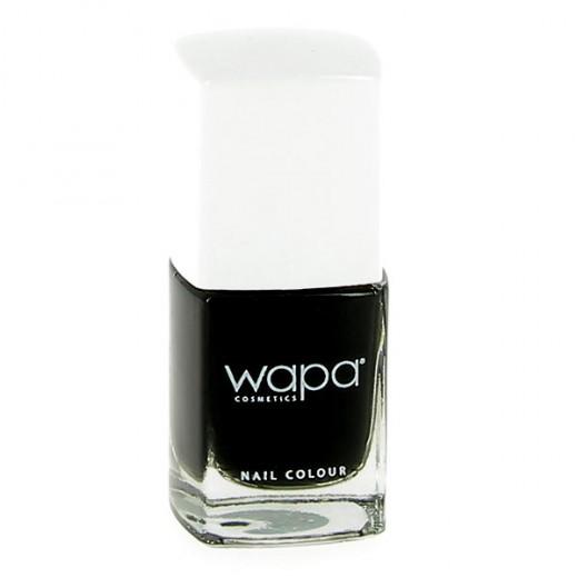 Wapa Vernis à ongles séchage rapide Noir 036 12ML, Vernis à ongles couleur