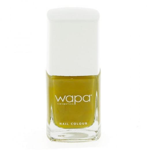 Wapa Vernis à ongles séchage rapide Jaune moutarde 808 12ML, Vernis à ongles couleur