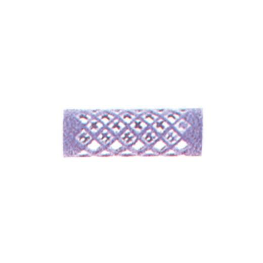 Mezzo Rouleaux velour courts Lilas x12, Rouleaux à mise en plis