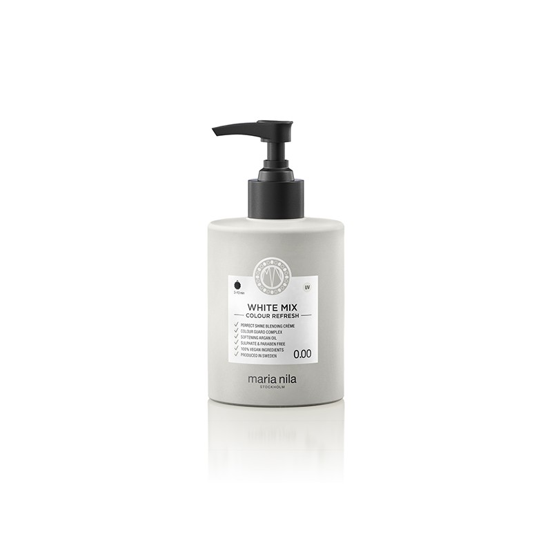 Maria Nila Masque Colour Refresh 0.00 White mix 300ML, Après-shampoing repigmentant