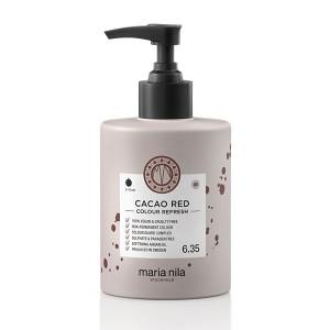 Maria Nila Masque Repigmentant Colour Refresh 6.35 Cacao Red Maria Nila 300ML, Après-shampoing repigmentant