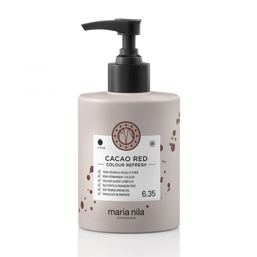Masque Repigmentant Colour Refresh 6.35 Cacao Red Maria Nila 300ml