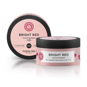 Maria Nila Masque repigmentant Colour Refresh 0.66 Bright red 100ML, Après-shampoing repigmentant