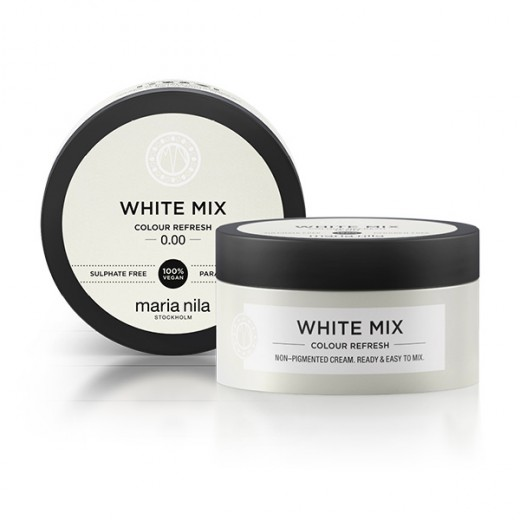 Maria Nila Masque  Colour Refresh 0.00 White mix 100ML, Après-shampoing repigmentant