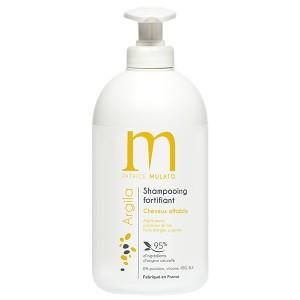 Mulato Shampooing fortifiant argile jaune Argila 500ML, Shampoing naturel