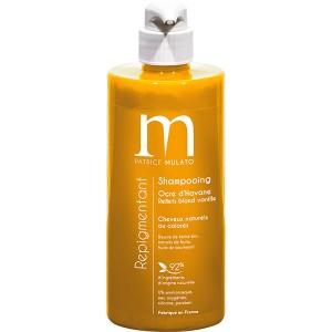 Mulato Shampoing Repigmentant Ocre d'havane 500ML, Shampoing naturel