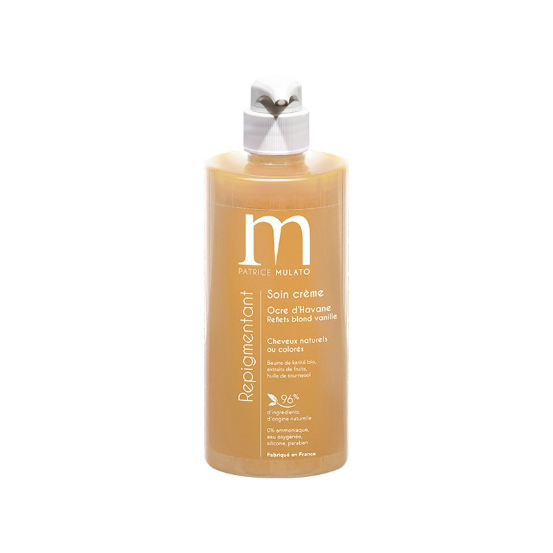 Mulato Soin Repigmentant Ocre d'havane 500ML, Après-shampoing naturel