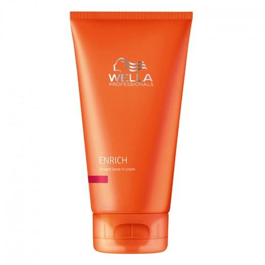 Wella Crème de lissage cheveux épais Enrich 150ML, Crème cheveux sans rinçage