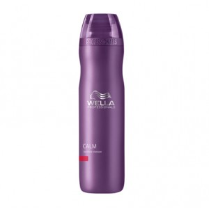 Wella Shampooing apaisant cuir chevelu sensible Calm 250ML, Shampoing traitant