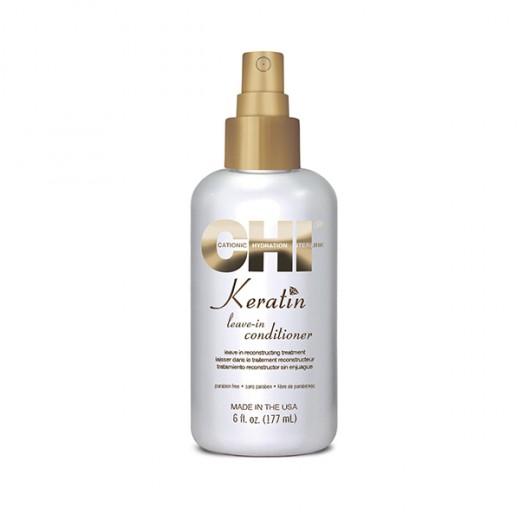 Chi Traitement reconstructeur sans rinçage Keratin 177ML, Spray cheveux