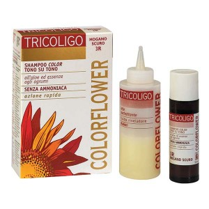 Kit coloration Color Flower Blond foncé touge profond