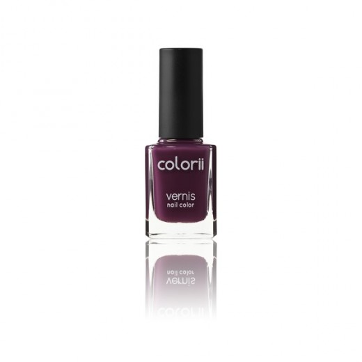 Colorii Vernis à ongles Plum 11ML, Vernis à ongles couleur
