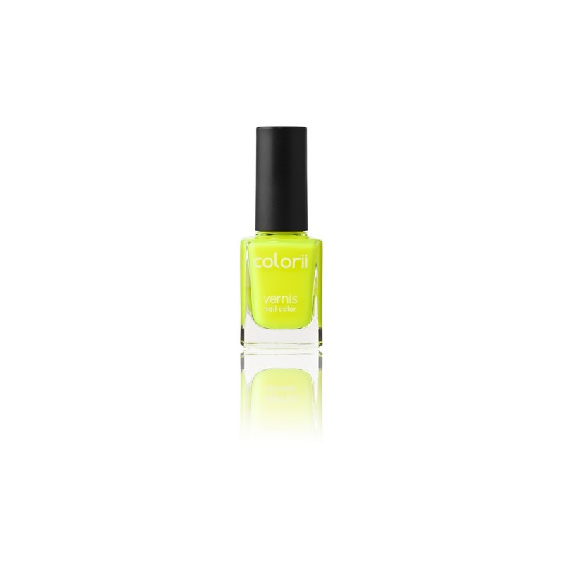 Colorii Vernis à ongles fluo Yellow 11ML, Vernis à ongles couleur