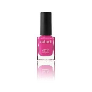 Colorii Vernis à ongles fluo Pink 11ML, Vernis à ongles couleur