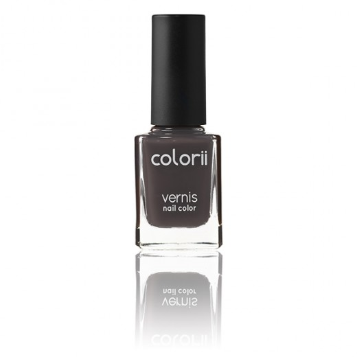 Colorii Vernis à ongles Grey storm 11ML, Vernis à ongles couleur