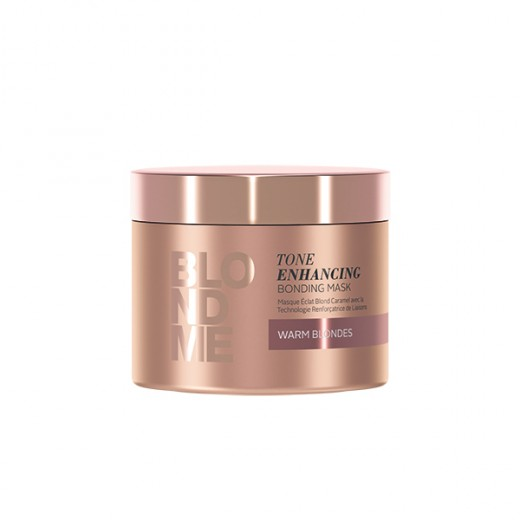 Masque éclat BlondMe Tone Enhancing blond caramel