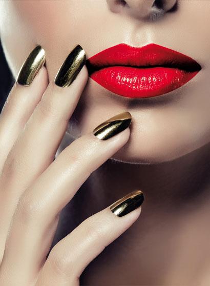 Obtenir un Nail Art effet chrome