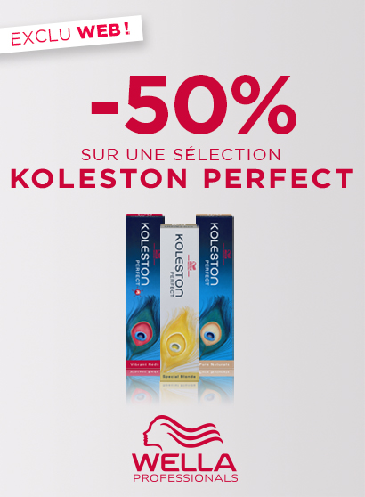 Promo Bloc page promo - BAU - Koleston -50% - Toutes
