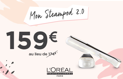 Bloc Promo page promo - Steampod2&packs - Particuliers