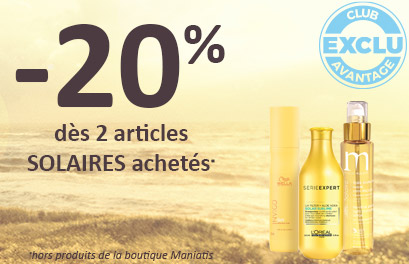 Bloc Promo page promo - OPSolaires - Particuliers