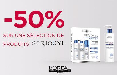 Bloc Promo page promo - Serioxyl déstockage - Tous